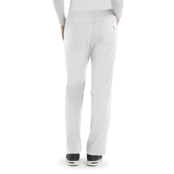 Бял медицински панталон