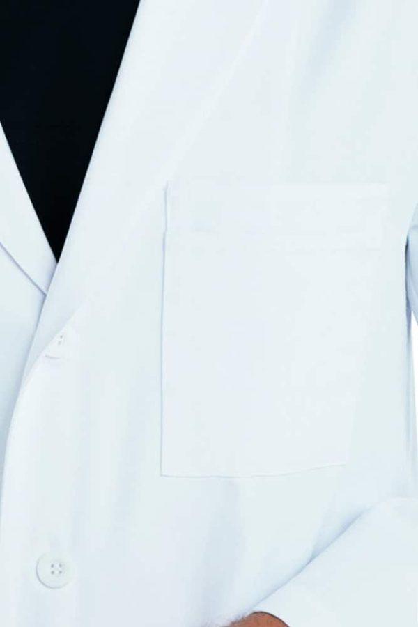 Красив лекар с медицинска престилка - дълга