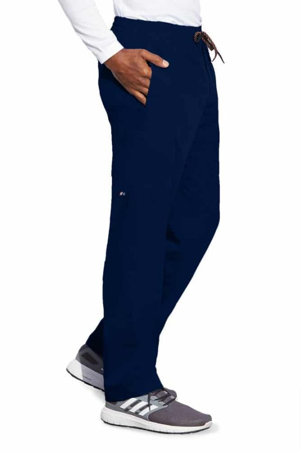 Син медицински панталон