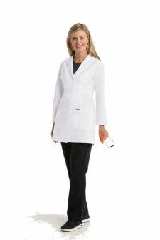 Красива лекарка с медицинска престилка - къса