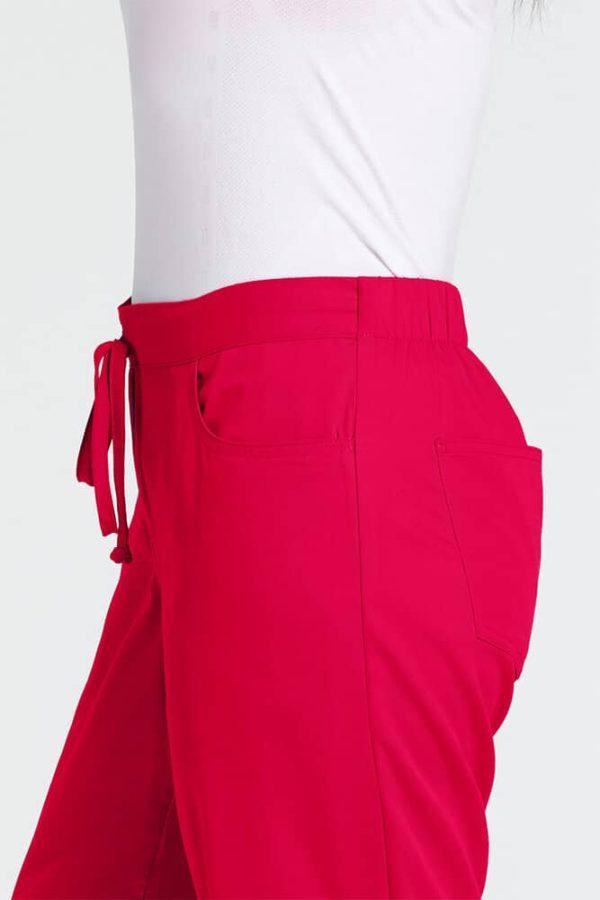 Червен медицински панталон