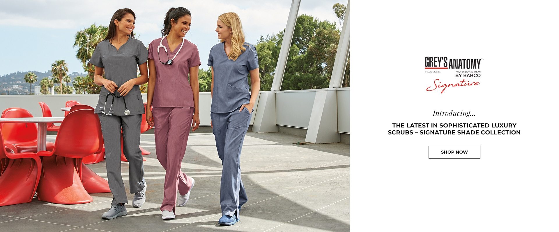 медицински персонал в красиви облекла